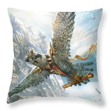 Skyswift Herald Throw Pillow