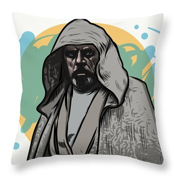 Skywalker Returns Throw Pillow