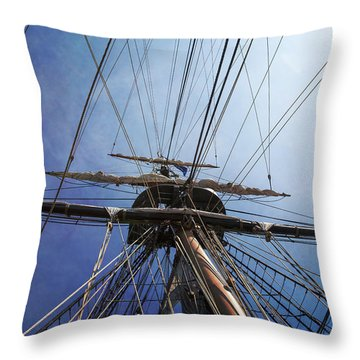 Throw Pillow featuring the photograph Skyward by Dale Kincaid
