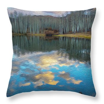 Slack Weiss Autumn Throw Pillow