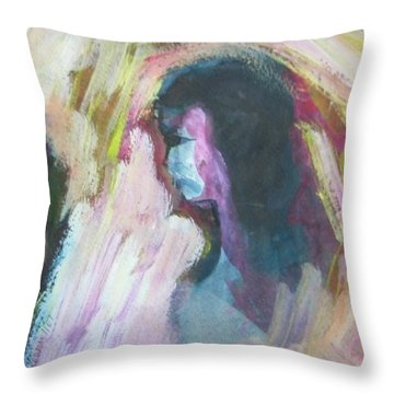 Slapping Without Touching Throw Pillow