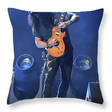 Slash Guns N' Roses Throw Pillow
