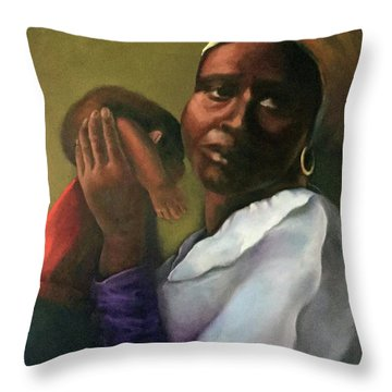 Slaughter Of The Innocents Throw Pillow