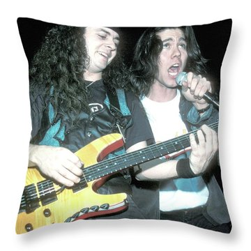 Slaughter Tim Kelly And Mark Slaughter  Throw Pillow