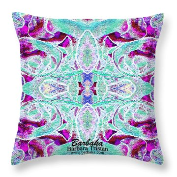 Throw Pillow featuring the photograph Sleap Elppa by Barbara Tristan