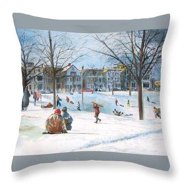South Boston Throw Pillows