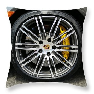 Sleek And Fast Throw Pillow