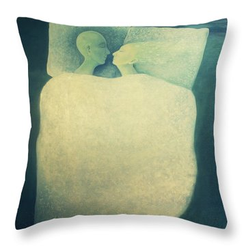 Sleep - In Love Throw Pillow