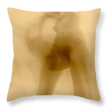 Throw Pillow featuring the photograph Sleep Walker 2 Variation by Joe Kozlowski