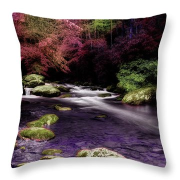 Sleep Walking Throw Pillow
