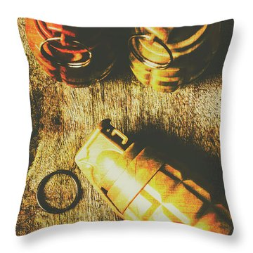 Sleeper Cell Marines Activated Throw Pillow