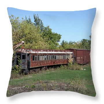 Sleepers Throw Pillow