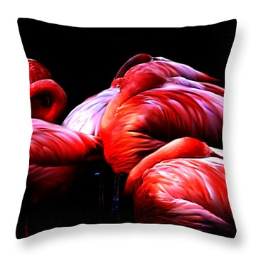 Sleeping Beauty Throw Pillow by Bernd Hau