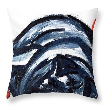 Sleeping Dog Throw Pillow by Lidija Ivanek - SiLa