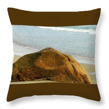 Sleeping Giant At Marthas Vineyard Throw Pillow