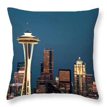 Sleepless In Seattle Throw Pillow by Eduard Moldoveanu