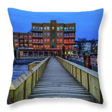 Sleepy Hollow Pier Throw Pillow