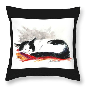 Sleepy Time Boy Throw Pillow