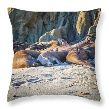 Sleepyheads Throw Pillow