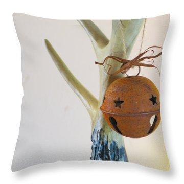 Sleighbell Throw Pillow