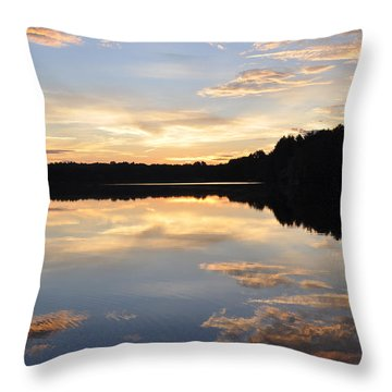 Slice Of Heaven Throw Pillow by Luke Moore