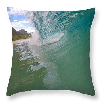 Sliced Glass Throw Pillow