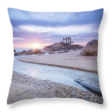 Throw Pillow featuring the photograph Sliding Into Time by Bruno Rosa
