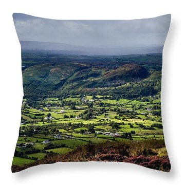 Slieve Gullion, Co. Armagh, Ireland Throw Pillow
