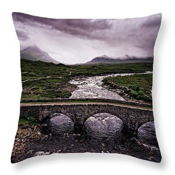 Sligachan Throw Pillow