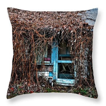 Slightly Overgrown Throw Pillow by Christopher Holmes