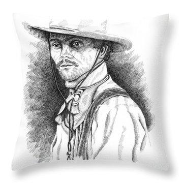 Slim Throw Pillow by Lawrence Tripoli