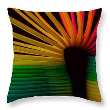 Slinky Throw Pillow