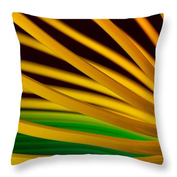 Slinky Iv Throw Pillow