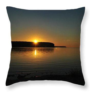 Slip Away Throw Pillow