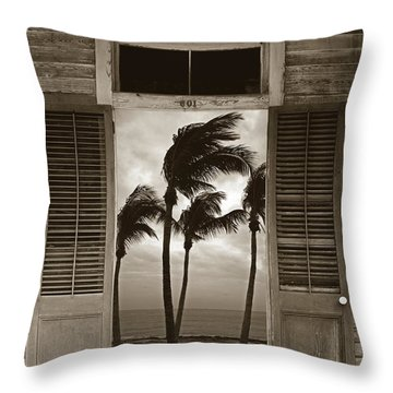 Throw Pillow featuring the photograph Slip Away To Paradise by John Stephens