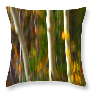Slipping Through  Throw Pillow