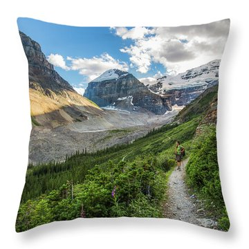Sliver Of Light - Banff Throw Pillow