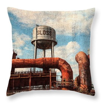 Sloss Throw Pillow by Phillip Burrow