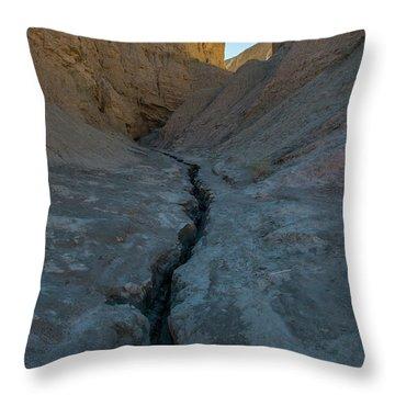 Slot Canyon Within Slot Canyon Throw Pillow