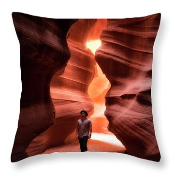 Slot Excursions  Throw Pillow by Nicki Frates