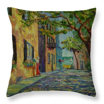 Farmer's Daughter  Throw Pillow