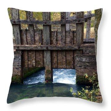 Sluce Gate Throw Pillow