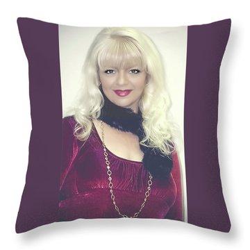 Sm 2005 Throw Pillow by Sharon Mau