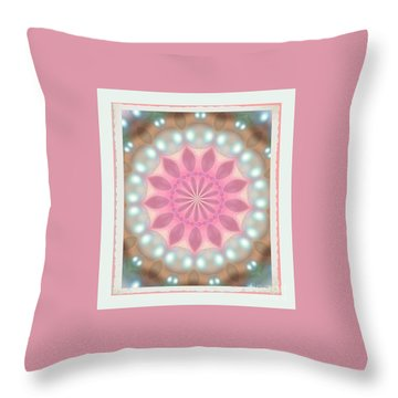 Small And Bright Throw Pillow