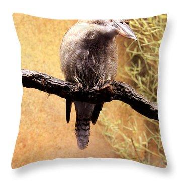 Small Bird Throw Pillow