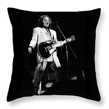 Small Faces Throw Pillow by Sue Arber