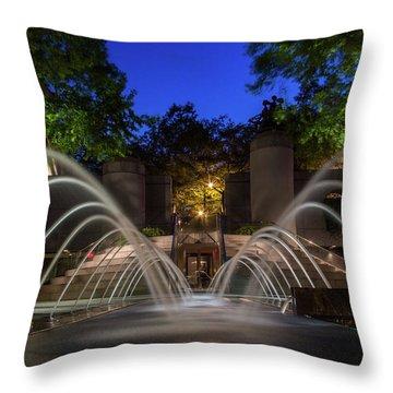 Small Fountain Throw Pillow