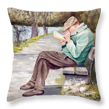 Small Print Throw Pillow