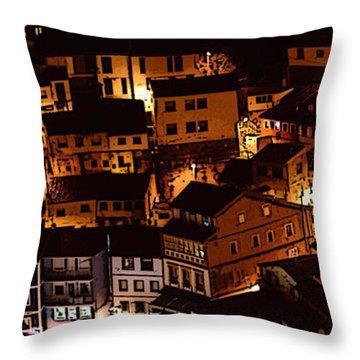 Small Village Throw Pillow