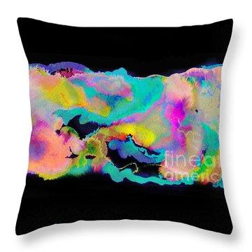 Small Wonder Throw Pillow by Expressionistart studio Priscilla Batzell